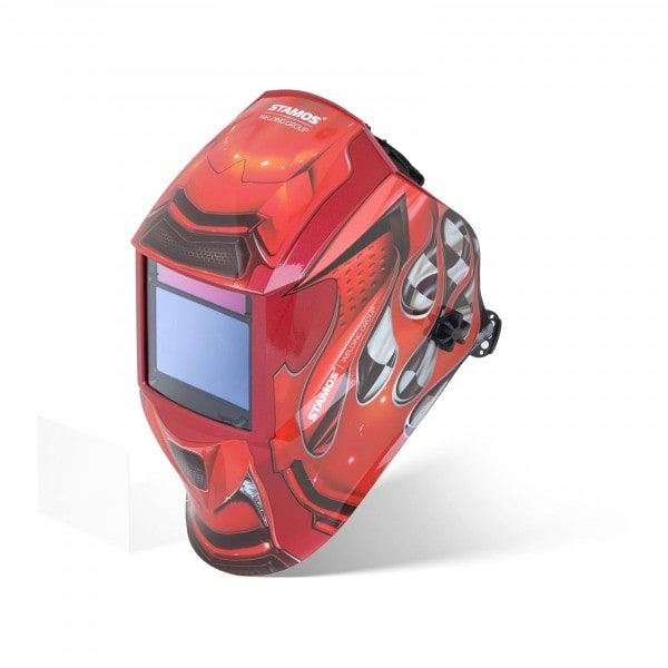 Welding Helmet - RED RACE - EXPERT SERIES