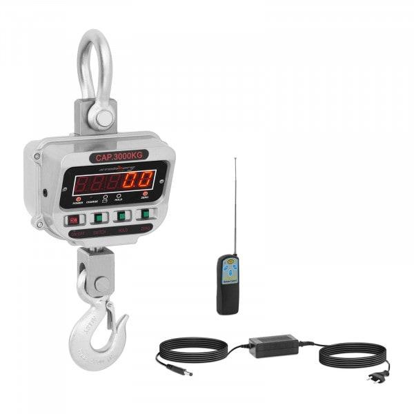 Crane Scale - 3 t / 0.5 kg - LED
